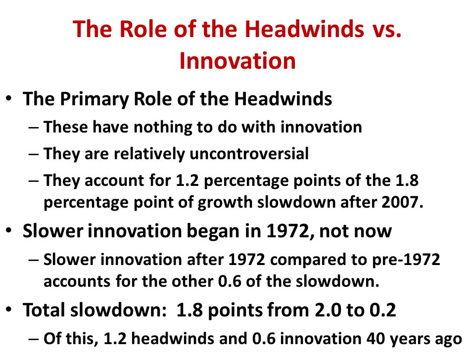 The Same History, Just for Productivity (Y/H) Growth