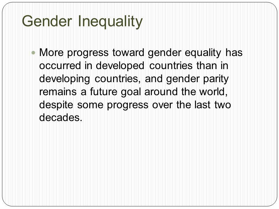Sociological Perspectives on Gender Stratification - Boundless