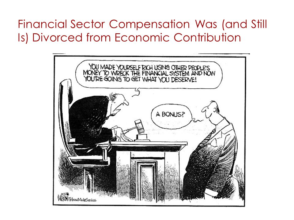 Financial Sector Compensation Was (and Still Is) Divorced from Economic Contribution 60