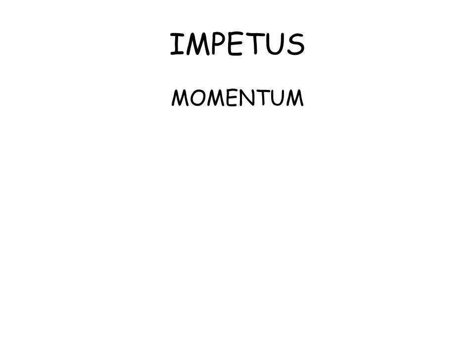 IMPETUS MOMENTUM