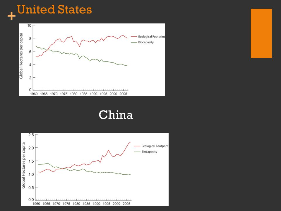 + United States China