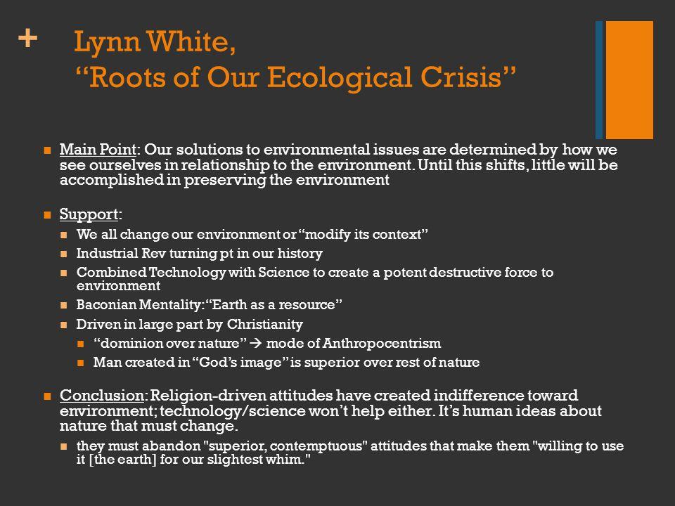 + Global Ecological Footprint