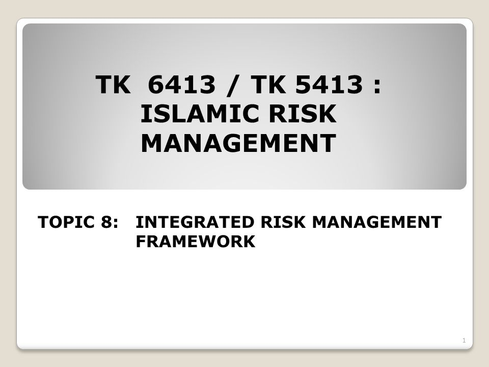 22 ii.Integrated loss analysis based on risk loss mountain surface method The method is divided into three main steps.