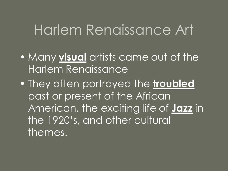 Jacob Lawrence Jacob Lawrence often painted pictures of life in Harlem.