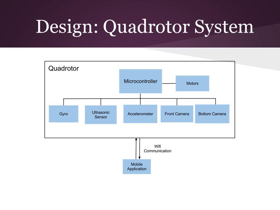 Design: Quadrotor System