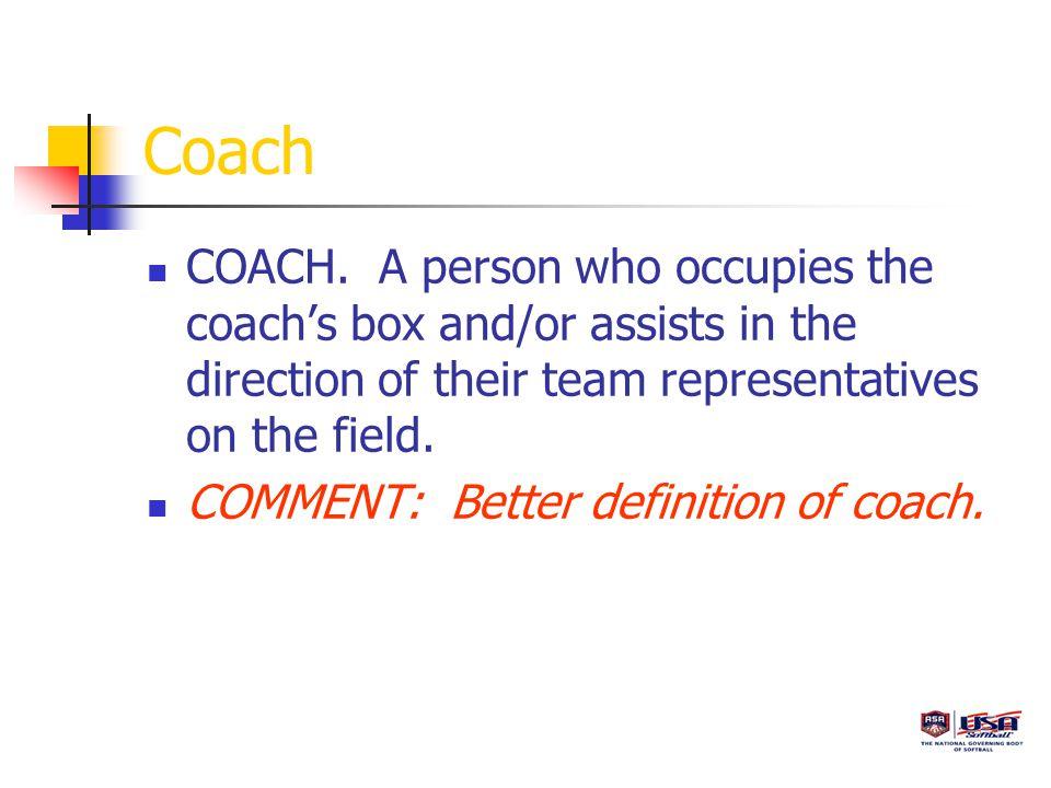 Coach COACH.