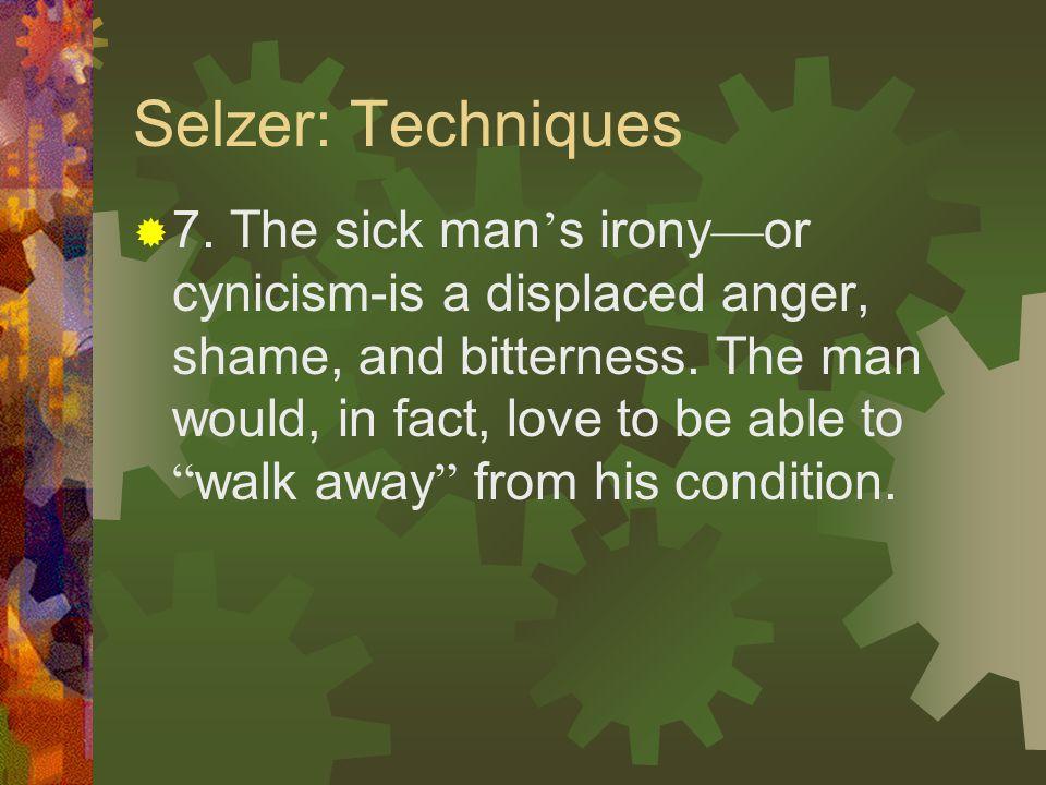 Selzer: Techniques  6.