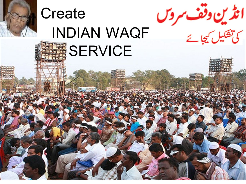 INDIAN WAQF SERVICE Create