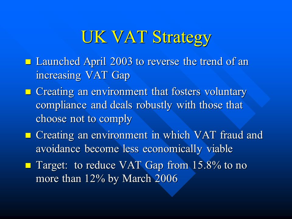 Top Down VAT Gap