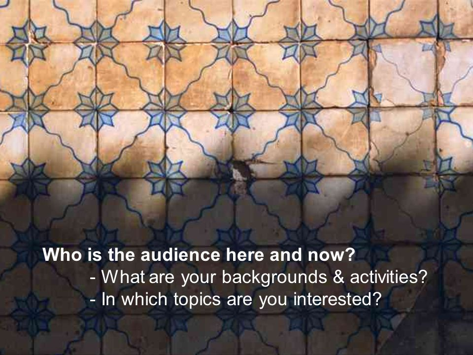 29 **-- Organizing access to information in information centres: the problem Users should be guided in finding their way through the maze, through the labyrinth that is formed by all available information systems and services.