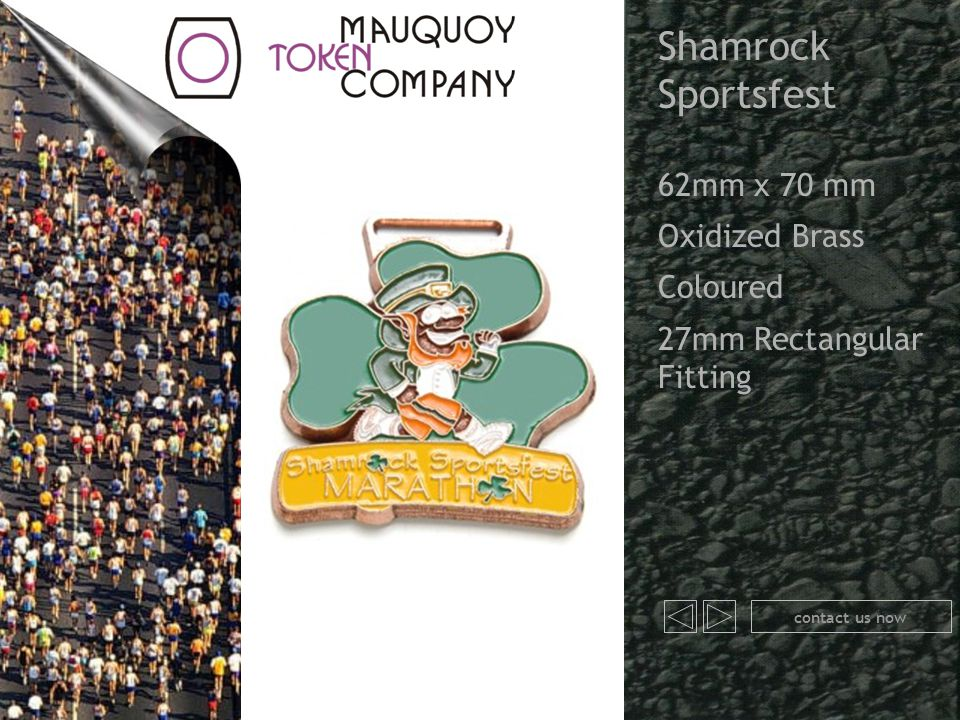 Shamrock Sportsfest 62mm x 70 mm Oxidized Brass Coloured 27mm Rectangular Fitting contact us now