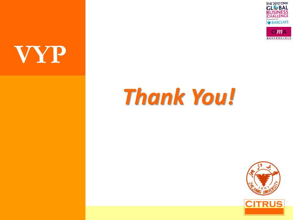 z Thank You! VYP