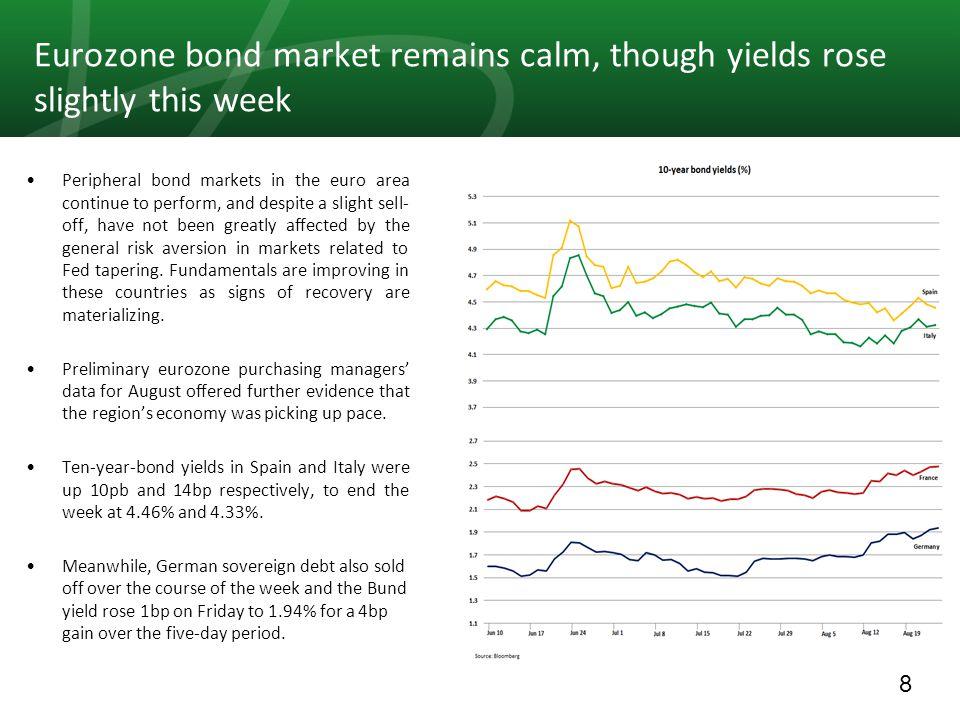 29 Comparative MENA Markets For the period 18/08 – 23/08
