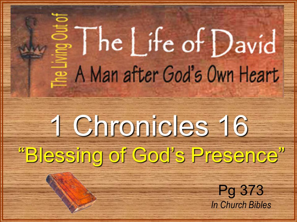 Then David returned to bless his household. 2 Samuel 6:20-23