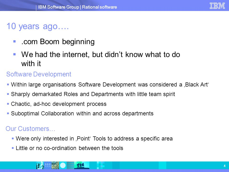 IBM Software Group | Rational software 25 Secure Eclipse & Web 2.0 clients Globally distributed projects Adaptive process enactment Dynamic artifact relationships Real-time collaboration and project information in context Powered by Adding value to Rational ClearCase & ClearQuest Team Concert Connectors Method Composer Agile Process (optional)  RUP decomposition  New plug-ins  Agile process enactment Rational Team Concert Provides bi-directional synchronization with ClearCase and ClearQuest  Collaboration using Jazz Views  Awareness of Events  Enhanced Disconnected Use Team Concert Connector  Iteration Planning  Awareness of Events  Single view of work status  Beta 2 ClearCase ClearQuest SCM (optional) Work Items (optional)