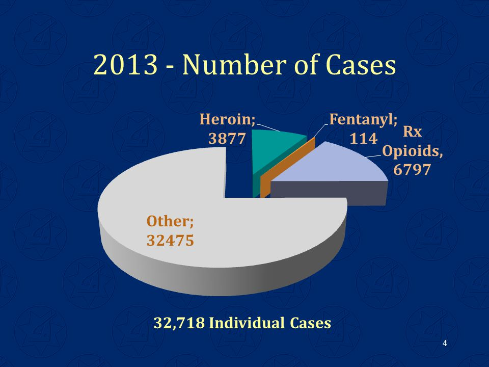 2013 - Number of Cases 4 32,718 Individual Cases