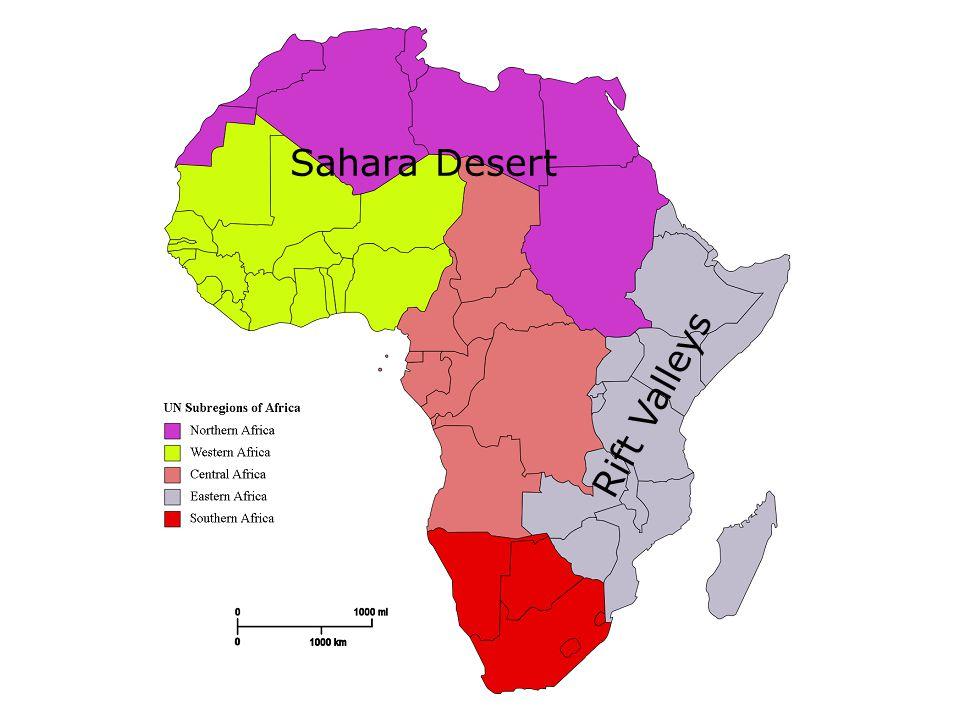 Rift Valleys Sahara Desert