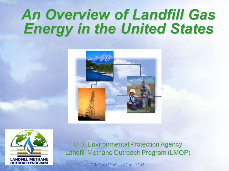 Modern Sanitary Landfill Monitoring Probes Gas Extraction Wells Liner System Waste Cells Intermediate/ Final Cover Gas Header Pipe Flare/ LFGTE Plant Leachate Plant File Last Updated: June 2008