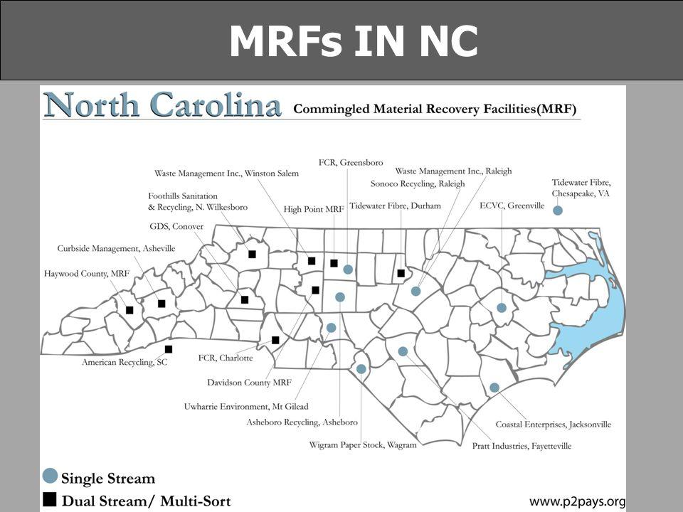 MRFs IN NC