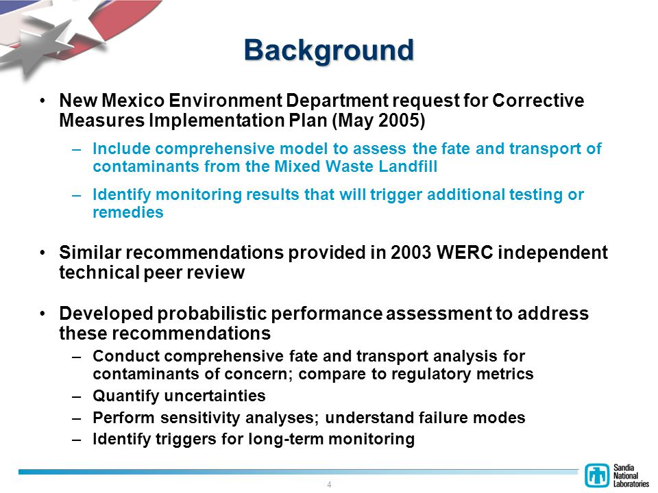 15 Uncertain Variables Waste Inventory and Size Thickness of Cover and Vadose Zone Transport Parameters –Infiltration –Adsorption coefficient –Saturated conductivity –Moisture content –Tortuosity coefficients –Boundary-layer thickness