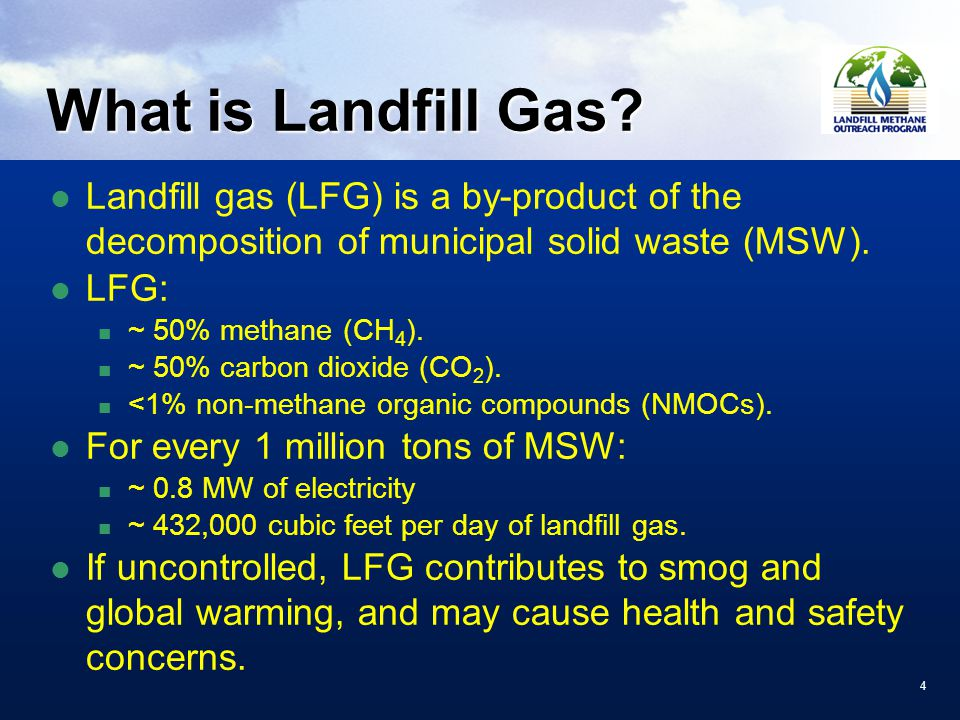 44 What is Landfill Gas.