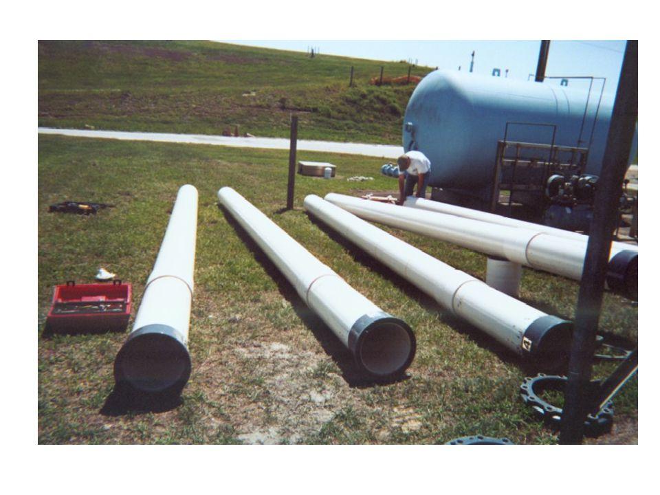C&D Landfill Disposal Where typically managed in FL, landfills unlined Lysimeter 3 – Control Lysimeter 4 – Experimental Densities –Lysimeter 3 – 580.2 pcy –Lysimeter 4 – 603.6 pcy