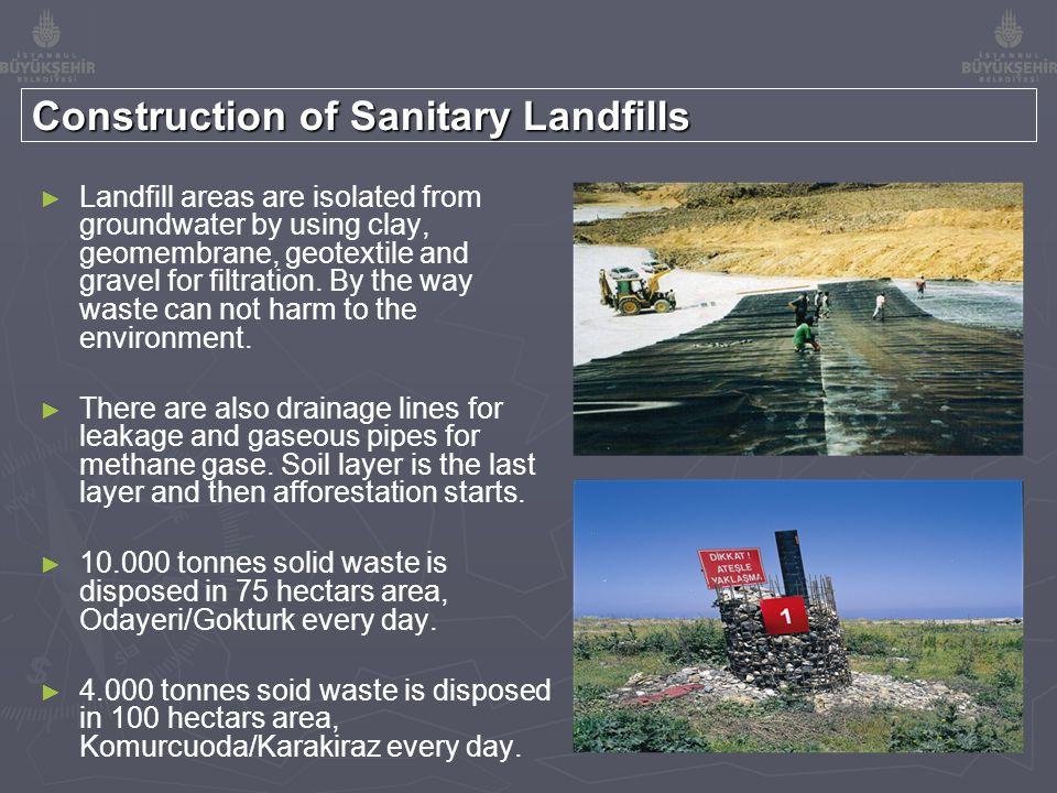 WASTE AMOUNT OF ODAYERI (EUROPEAN SIDE) SANITARY LANDFILL 2007