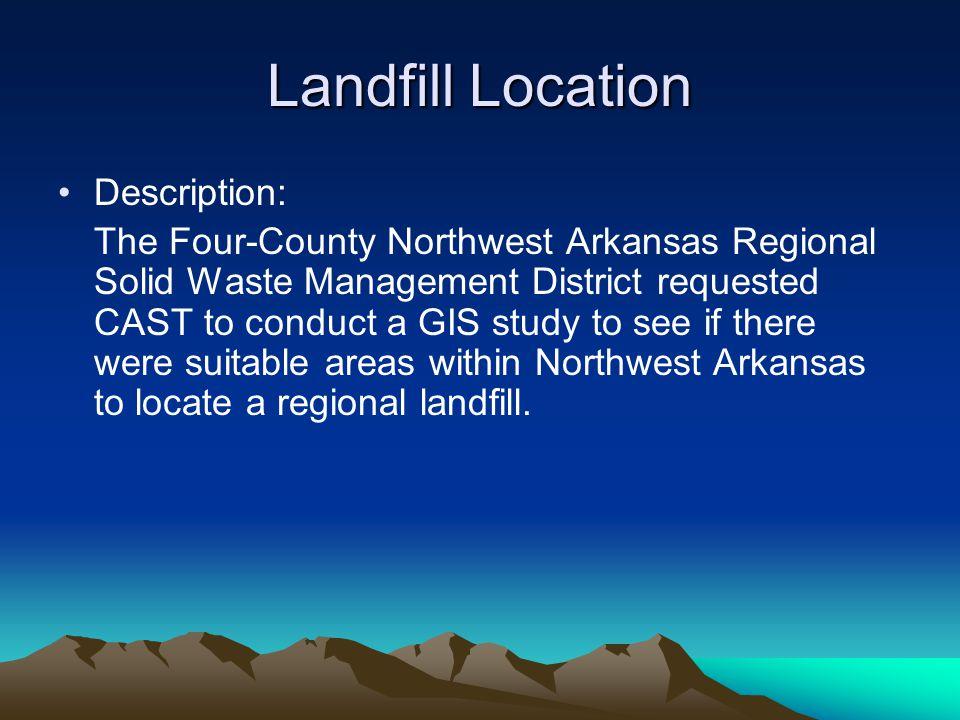 Tontitown Landfill South of Tontitown, Arkansas
