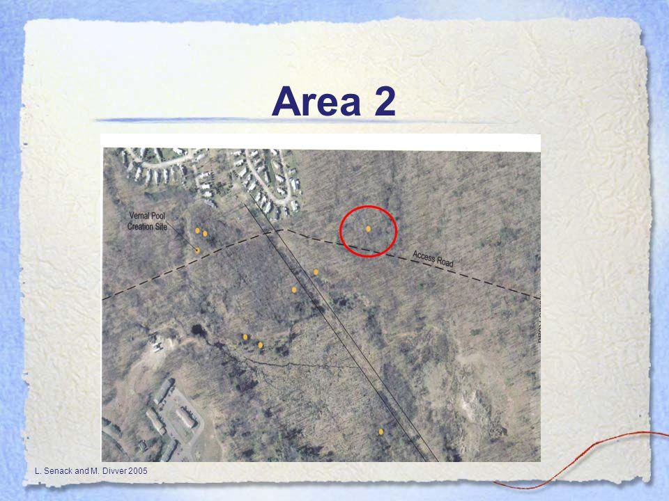 L. Senack and M. Divver 2005 Area 2