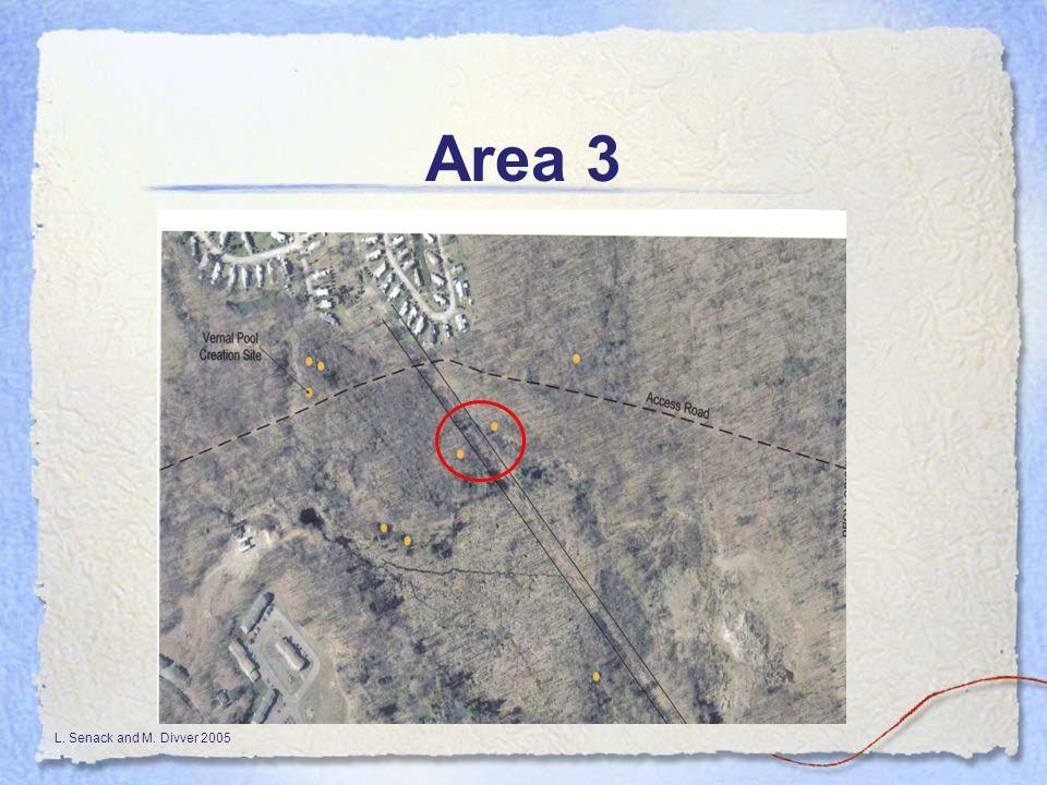L. Senack and M. Divver 2005 Area 3