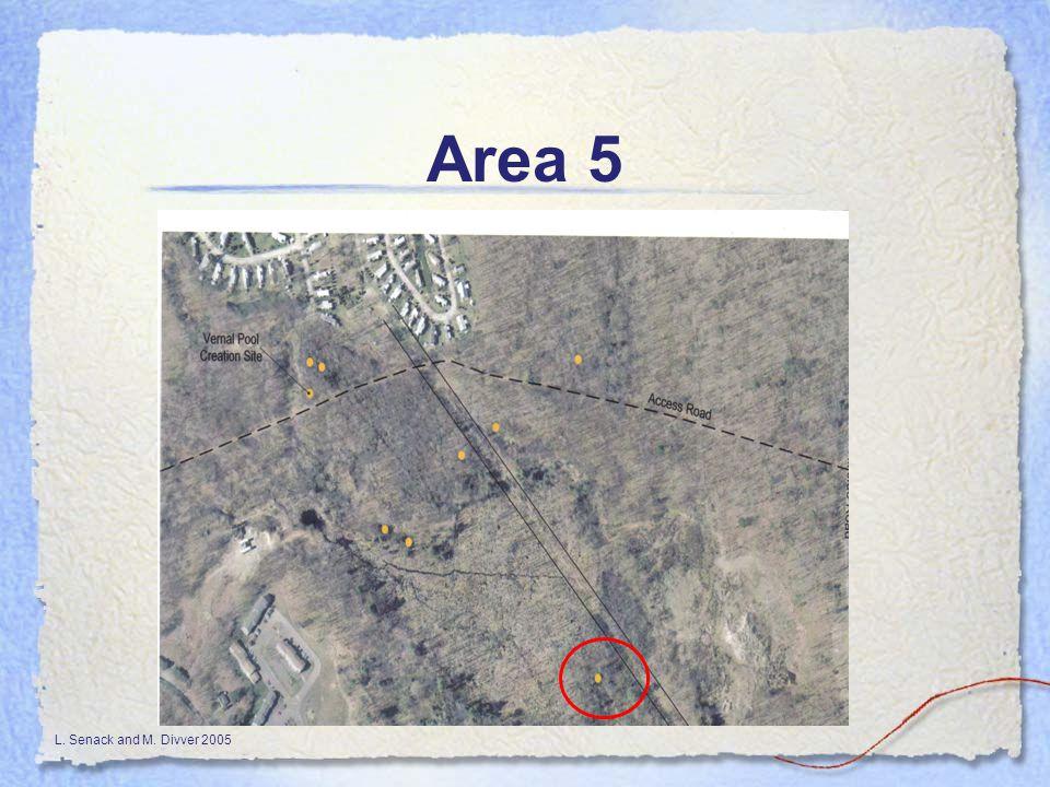 L. Senack and M. Divver 2005 Area 5