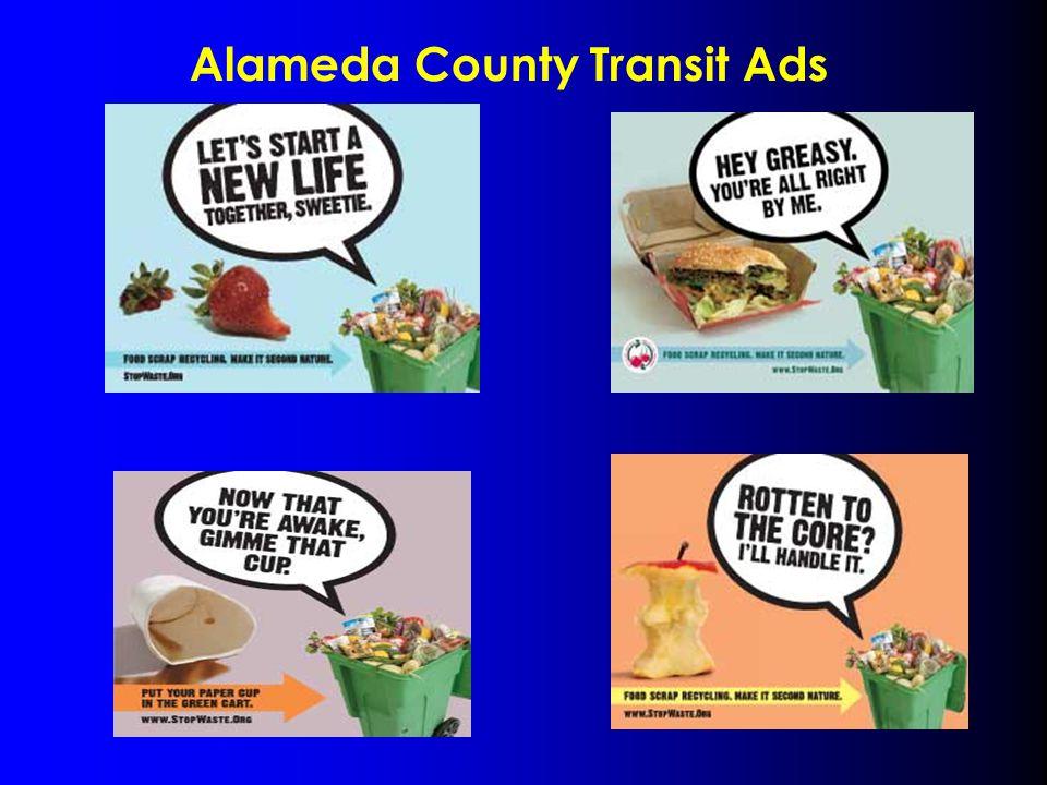 Alameda County Transit Ads