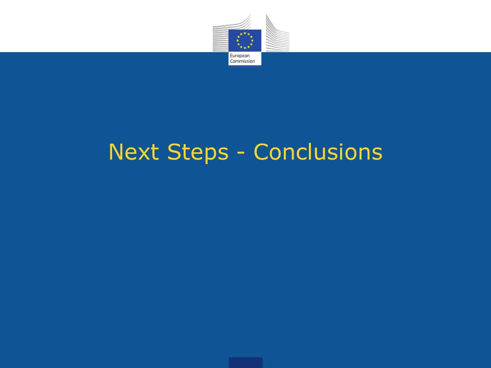 Next steps (2012-2014)  Recast of the WEEE Directive  Economic instruments and waste prevention/management performances  New rules on the use of structural funds  Assessment of the National Waste Management plans – Modelling  Proposals for ecodesign measures  Fitness check of specific recycling directives  Producer Responsibility – analysis and possibly guidance Proposal for new recycling and landfill diversion targets (2014)