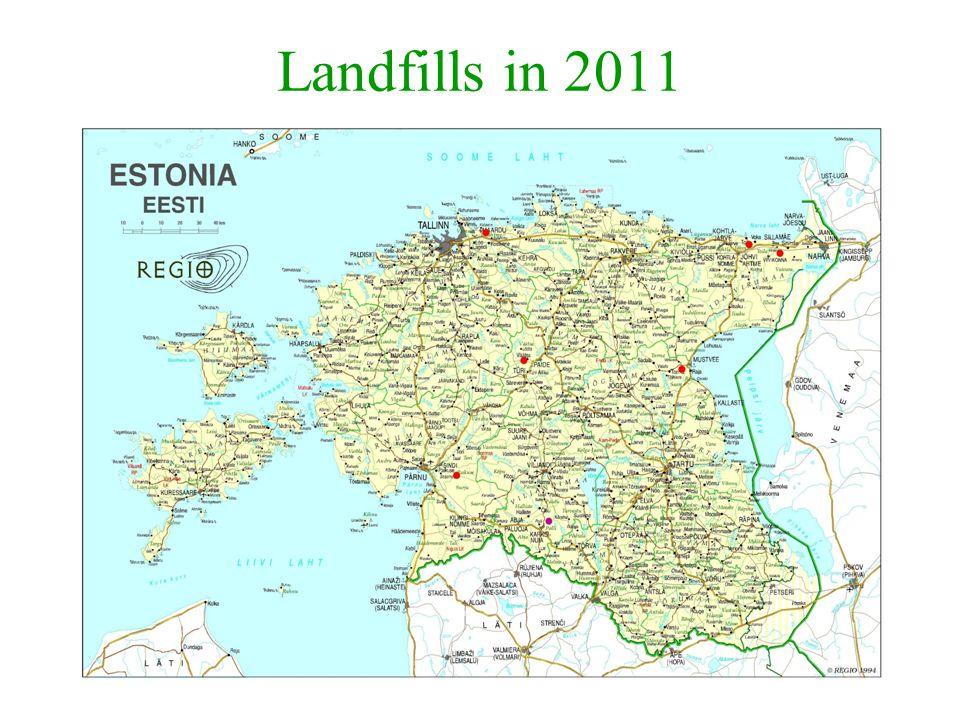 Landfills in 2011