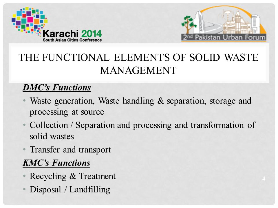 METHODOLOGY OF SAMPLING 15 VERTICAL WASTE ANALSIS HORIZONTAL WASTE ANALYSIS METHODOLOG Y Waste Characterization Laboratory Analysis Source / Door to door collection High High Income Group + 300 sqyd houses, Low High Income Group 300 sqyd houses, High Medium Income 240 Sqyd houses, Low Medium Income 80 to 240 sqyd, Low Income below 80 sqyd and slum Minimum of 200 Kg samples collected for continuous 03 days for Waste Characterization Moisture content, Organic and inorganic content, Nitrogen content, Carbon content, Calorific Value Communal Bia Landfill Site / Garbage Transfer Station Minimum of 1000 Kg sample collected for continuous 12 days for Waste Characterization