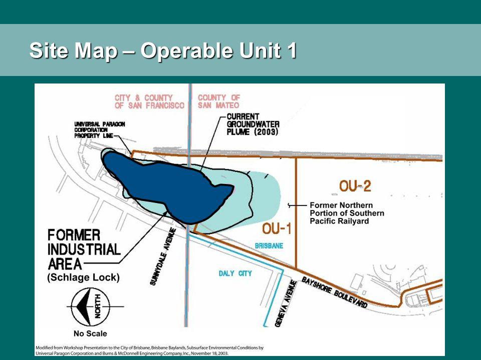 Site Map – Operable Unit 1