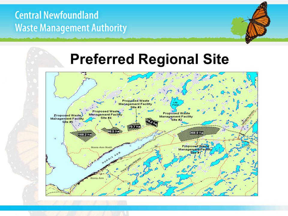 Preferred Regional Site