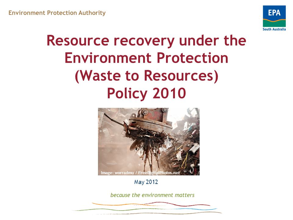 Guidelines on resource recovery processing requirements All facilities need to have: Trained staff on-site Written procedures for managing recoverable wastes Retrieval of recoverable wastes in accordance with procedure Annual notice to contractual clients on desired waste presentation Website information maintained