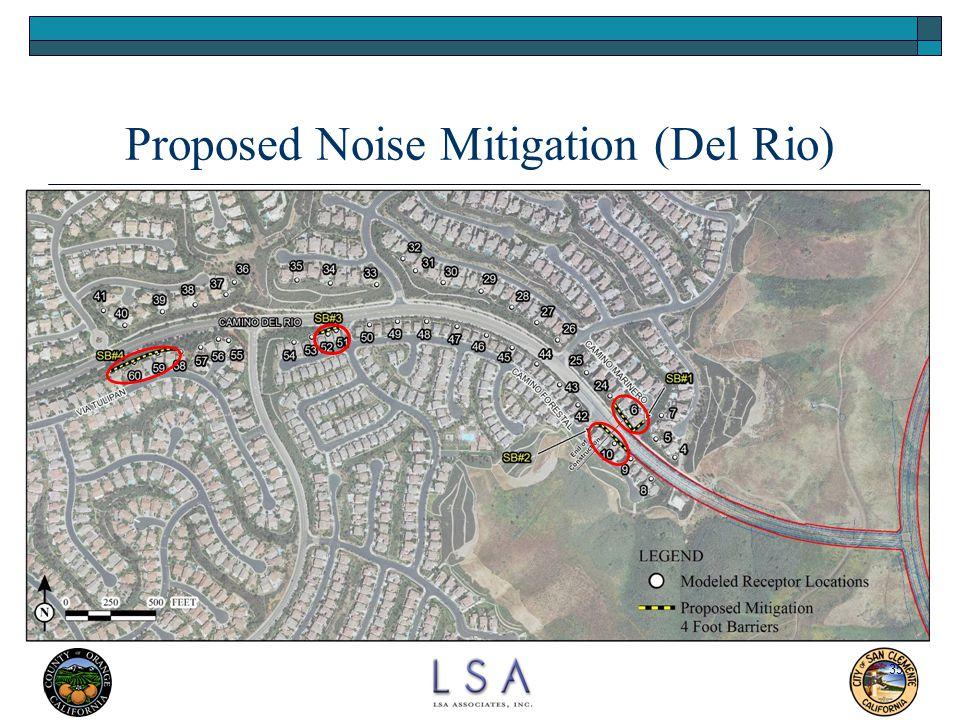 35 Proposed Noise Mitigation (Del Rio)