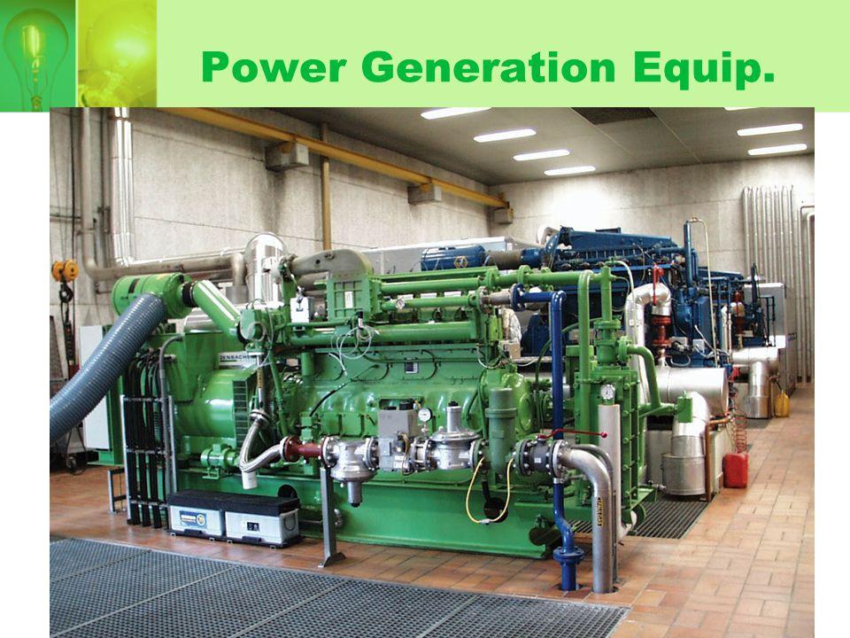 Power Generation Equip.