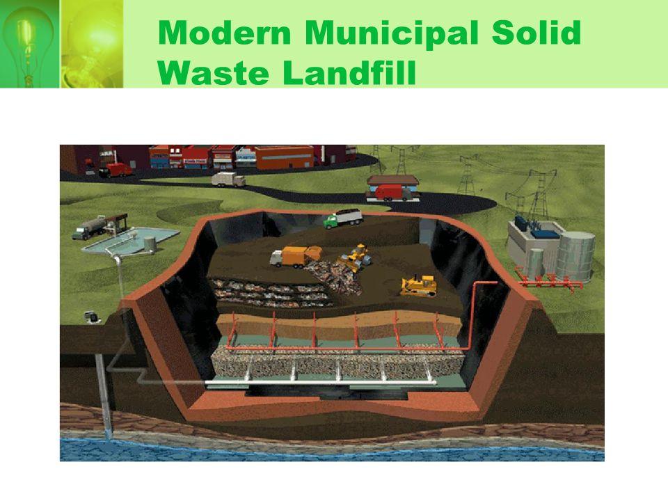 Modern Municipal Solid Waste Landfill