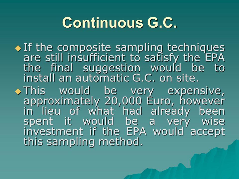 Continuous G.C.