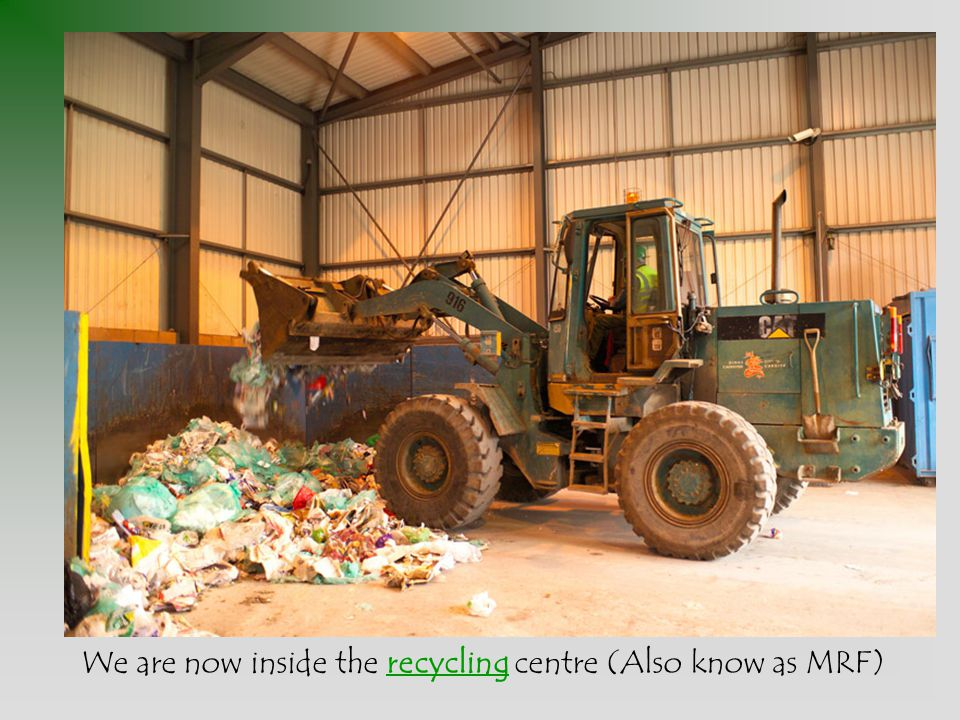 Over the next 12 weeks the compost is turned by lorries. It begins to break down.