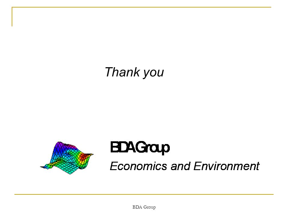 BDA Group Thank you