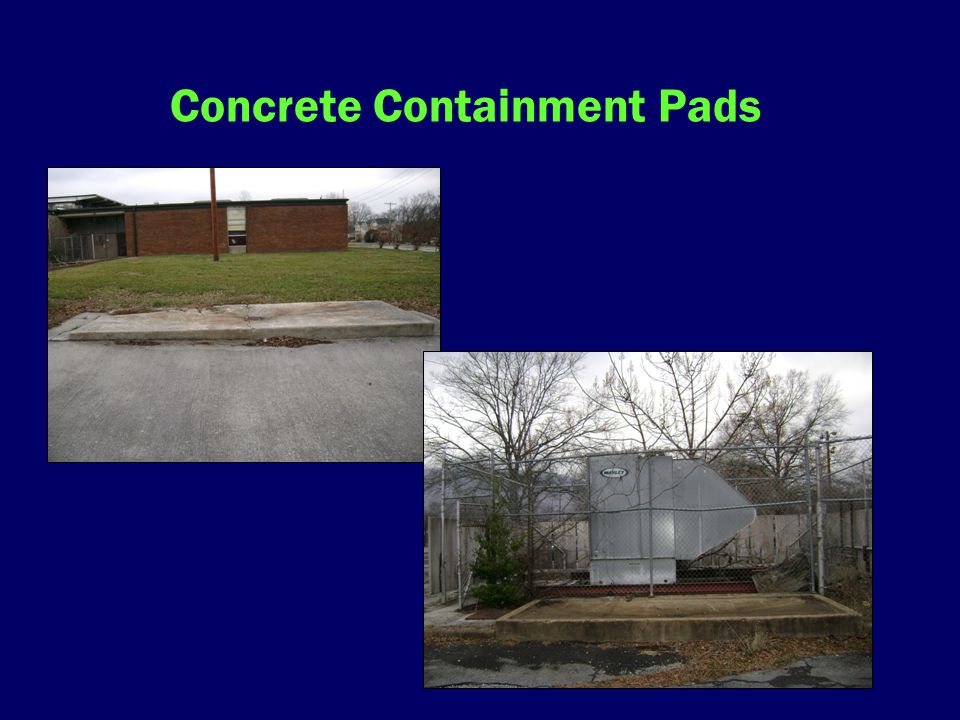 Concrete Containment Pads