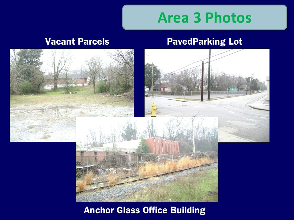 Area 3 Photos Vacant ParcelsPavedParking Lot Anchor Glass Office Building