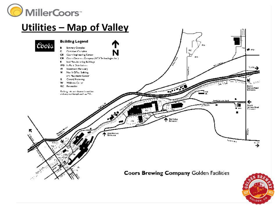 Utilities – Map of Valley