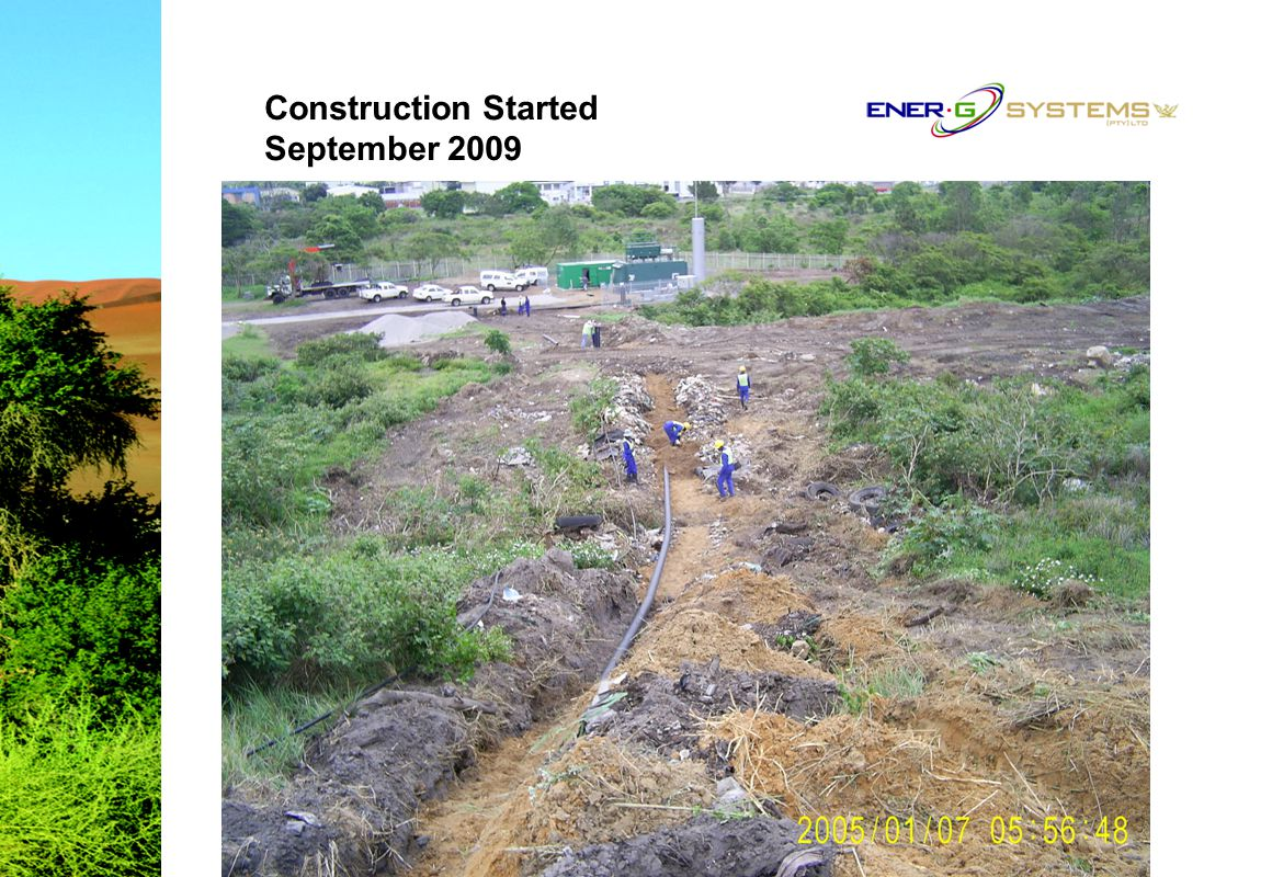 Construction Started September 2009