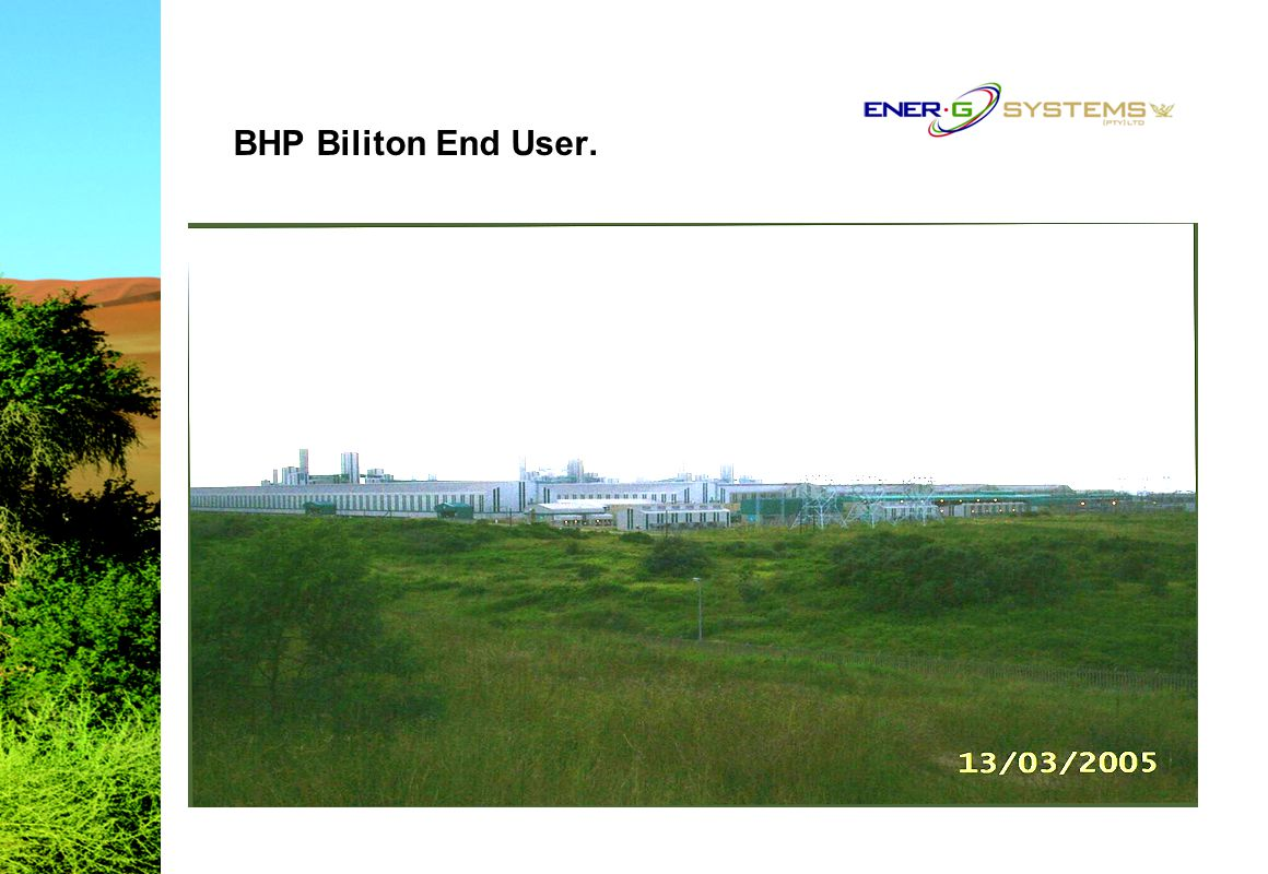 BHP Biliton End User.