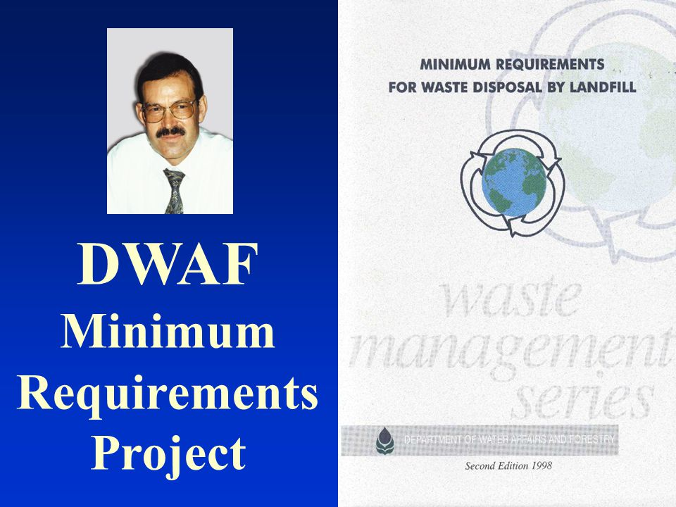 DWAF Minimum Requirements Project